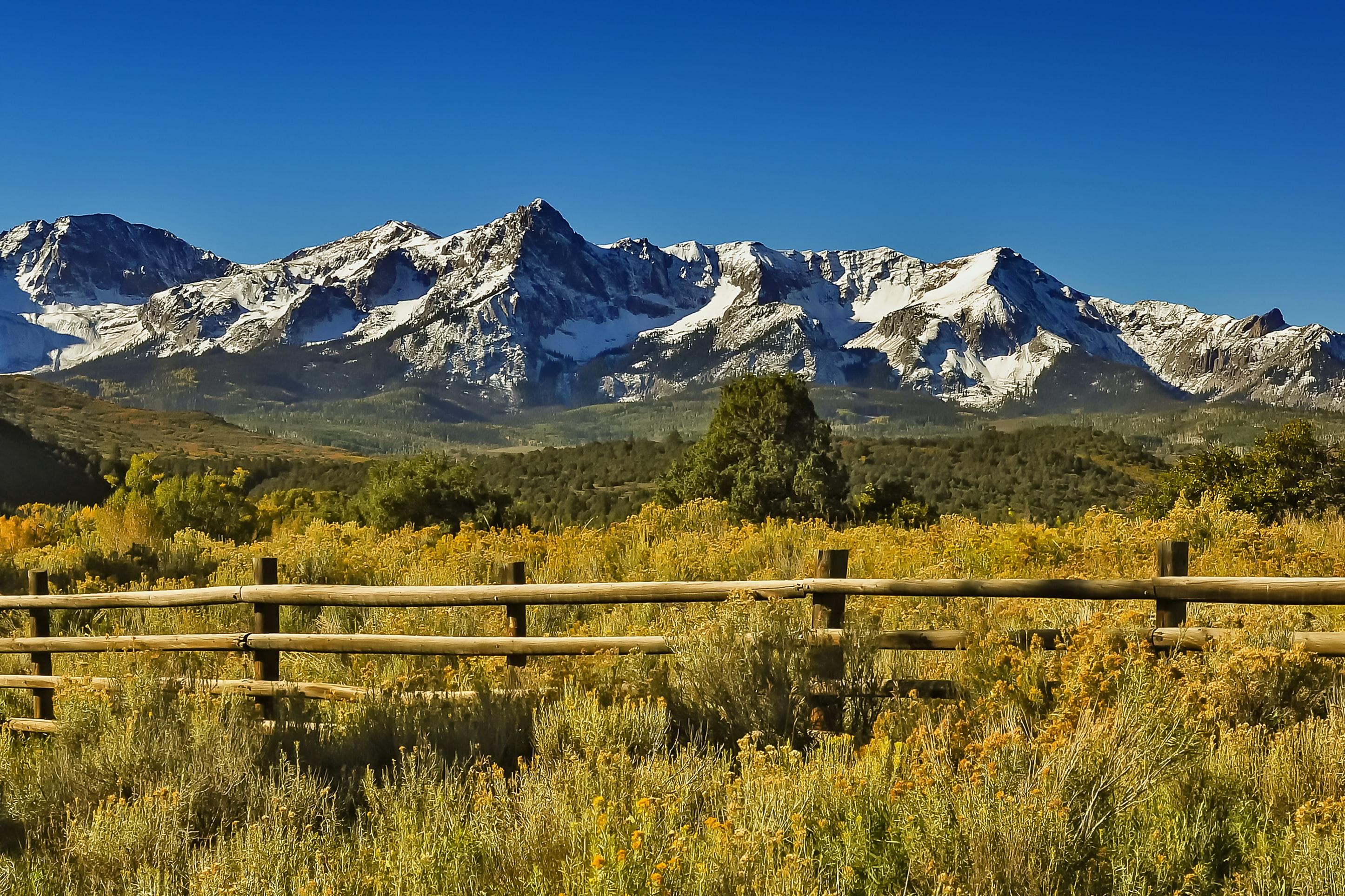 The San Juan Mountains are beautiful!